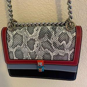 Handbags - tri-colored ladies bag
